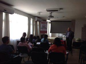 Doutor Lindalvo Silva Costa falando sobre a advocacia na área administrativa.