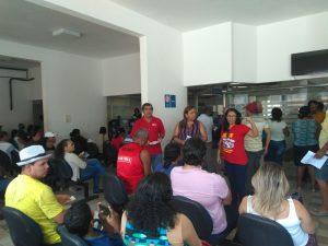 Diretores do SINDPREV-AL alertaram a população sobre os risco da Reforma da Previdência